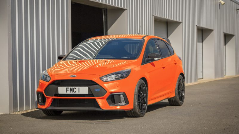 New Heritage Edition Model Is Ford's Swan Song To The Focus RS