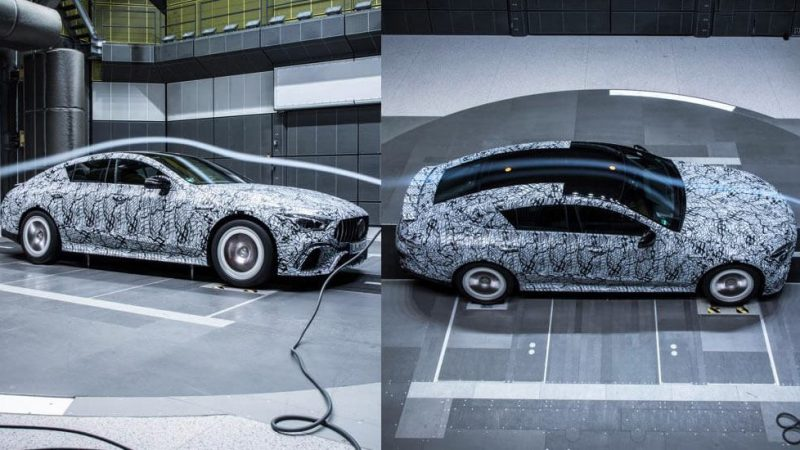 Mercedes-AMG GT4 Shows Its Curves In The Wind Tunnel
