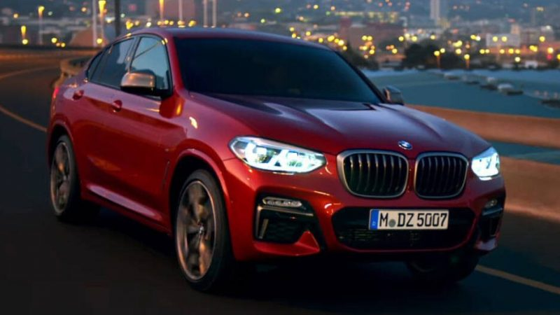 Watch The 2019 BMW X4 In First Official Videos