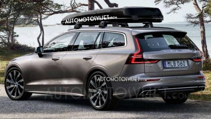 2019 Volvo V60: Are These The First Official Photos?