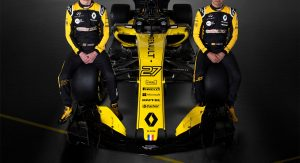 Renault Unveils R.S.18 Formula One Car For Upcoming Season