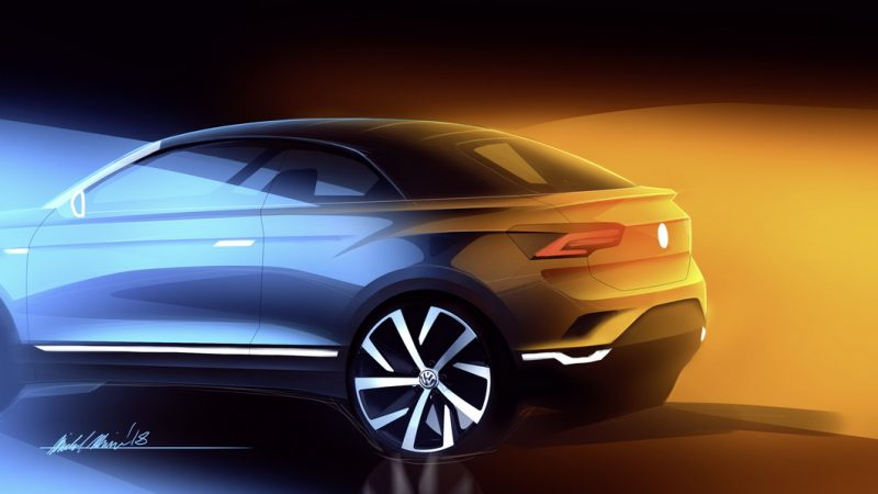 VW Is Making A T-Roc Convertible SUV And It's Coming In 2020