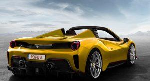 """Ferrari 488 Pista Rendered As An Open-Top """"Aperta"""""""