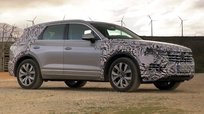 2019 VW Touareg Shows Some Skin In New Teaser Video
