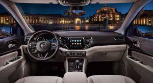 Jeep Reveals The Grand Commander's Interior Design