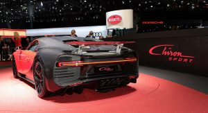 New Bugatti Chiron Sport Is Lighter And More Dynamic, Has €2.65 Million Base Price
