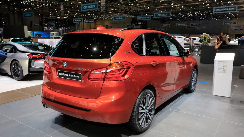 BMW 2-Series Active Tourer And Gran Tourer Minivans Put On A New Face For Geneva