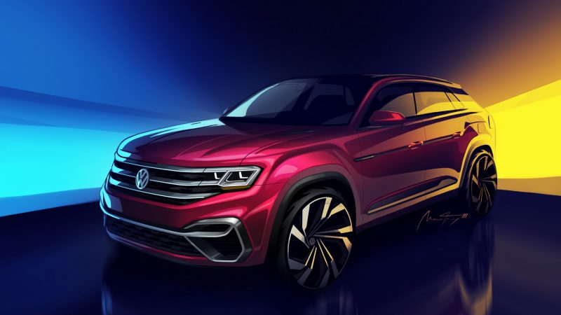 VW To Unveil Sportier New 5-Seater Atlas Variant In New York