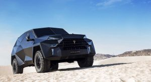 Karlmann King: World's Most Expensive SUV Is A $2 Million Chinese Spin On A Ford F-550