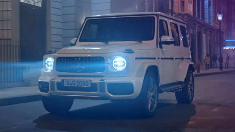 New Mercedes-AMG G63 Is 'Stronger Than Time' In Latest Ad