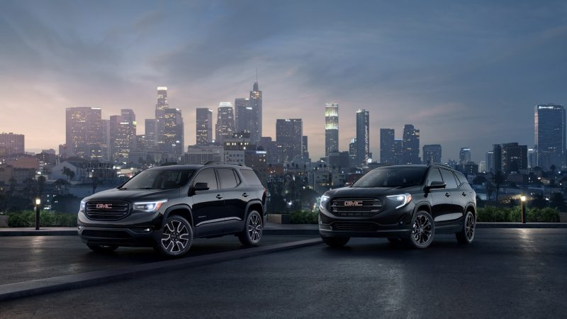 GMC Launches 2019 Terrain And Acadia Black Edition Models