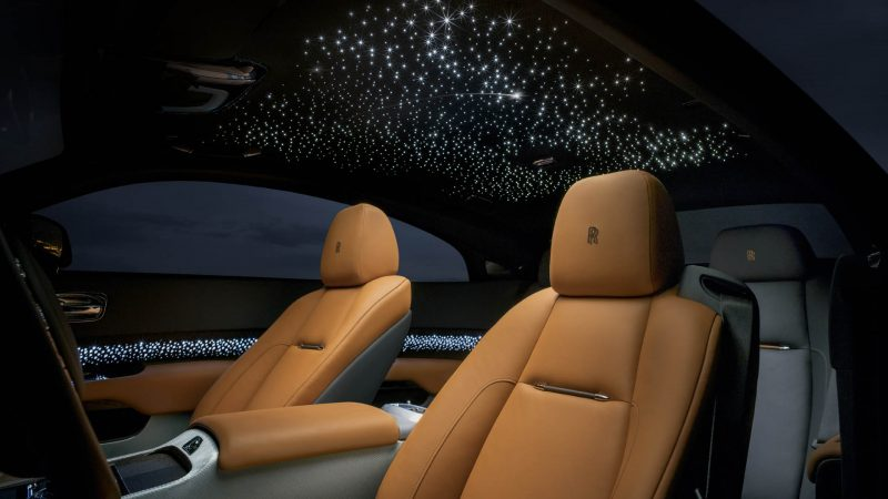 Rolls-Royce Wraith Luminary Edition Shines Like A Shooting Star