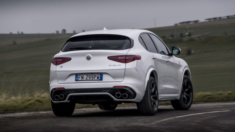 505hp Alfa Romeo Stelvio Quadrifoglio From £69,500 In The UK, Same As Merc's GLC63