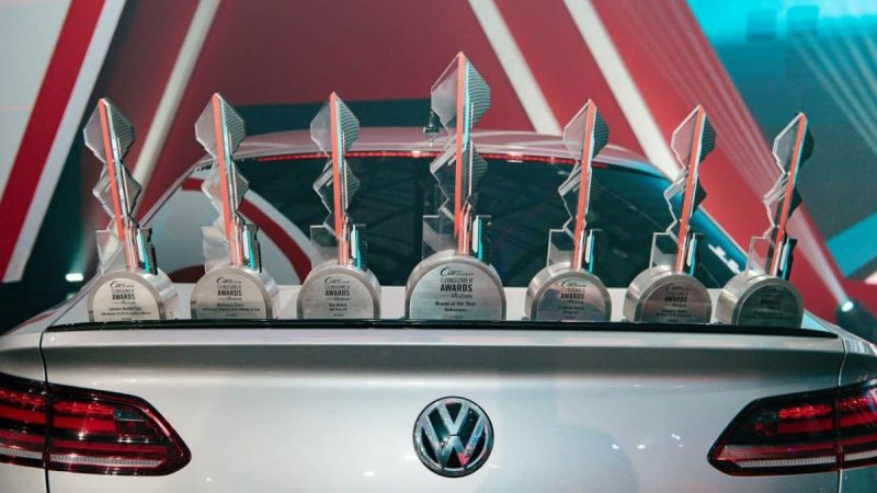 #CarsAwards: VW ahead of the pack at Cars.co.za Consumer Awards