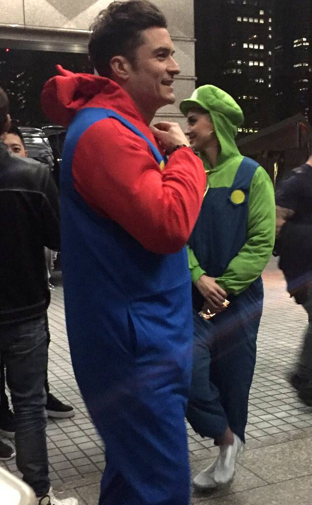 Katy Perry and Orlando Bloom Dress Up as Mario and Luigi for Japan Go-Karting Date