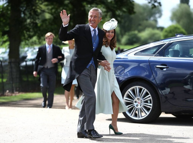 Pippa Middleton's Father-in-Law David Matthews Arrested on Charges of Raping a Minor