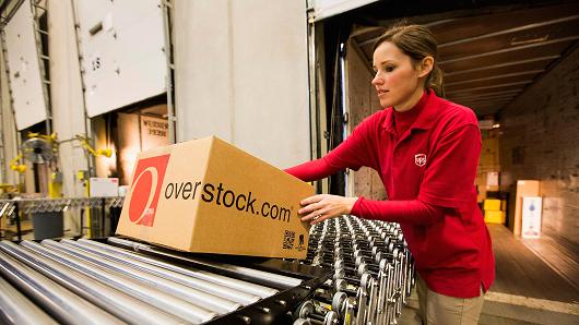 Overstock.com stock offering canceled, source says; shares rise