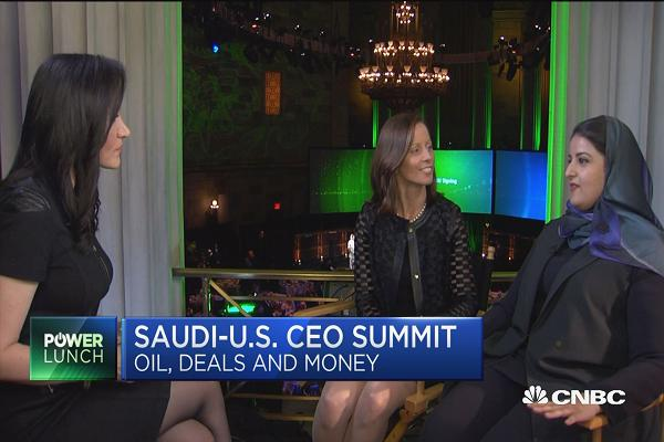 Saudi stock exchange chairwoman on gearing up for giant Aramco IPO