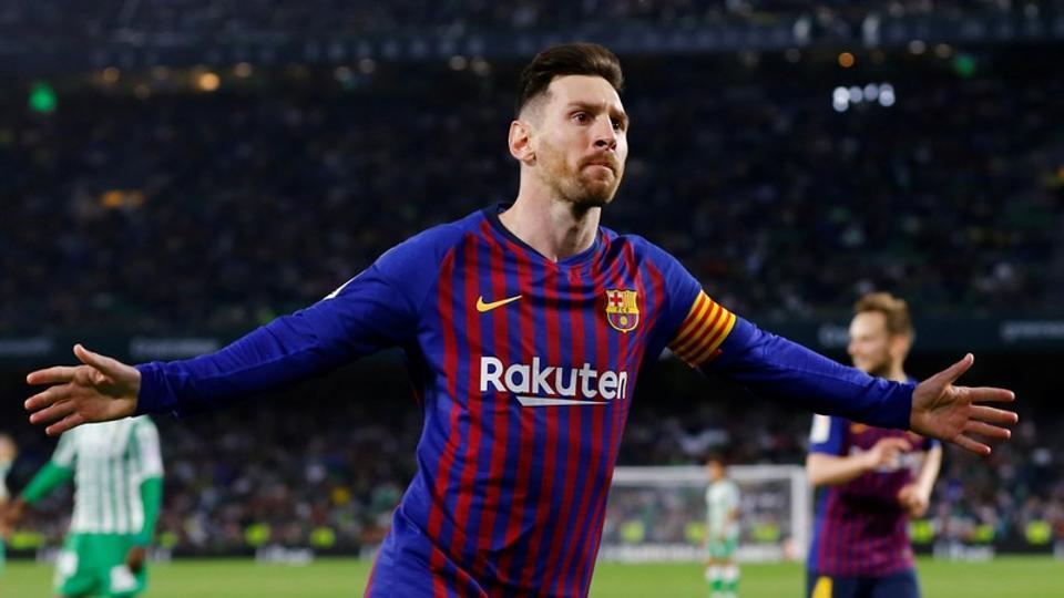 Lionel Messi,Betis,Barcelona