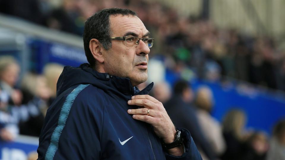 Maurizio Sarri,Chelsea,Everton