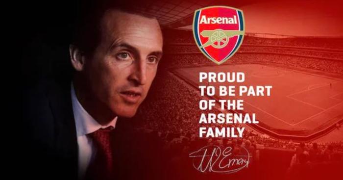 Arsenal confirm Unai Emery as Arsene Wenger's successor