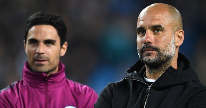 City line up Arteta as Pep's successor with new deal
