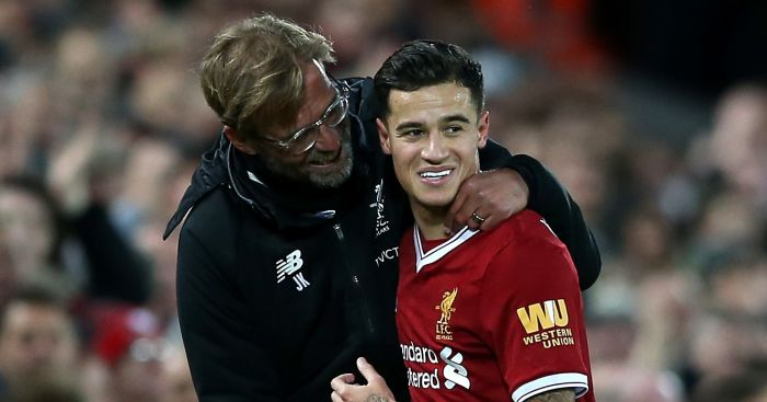 Klopp: Can you imagine Coutinho still in the team?