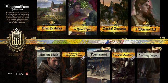 Kingdom Come: Deliverance DLC Roadmap revealed | PC Invasion