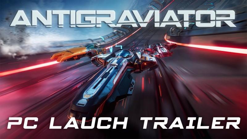 Super fast racer Antigraviator release date announced | PC Invasion