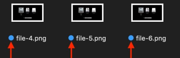 Finder tags