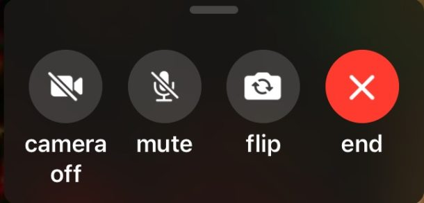 How to Flip FaceTime Camera in iOS 12