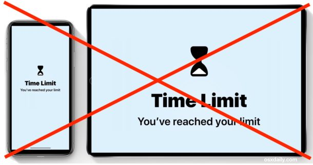 How to remove a Screen Time limit on iPhone or iPad
