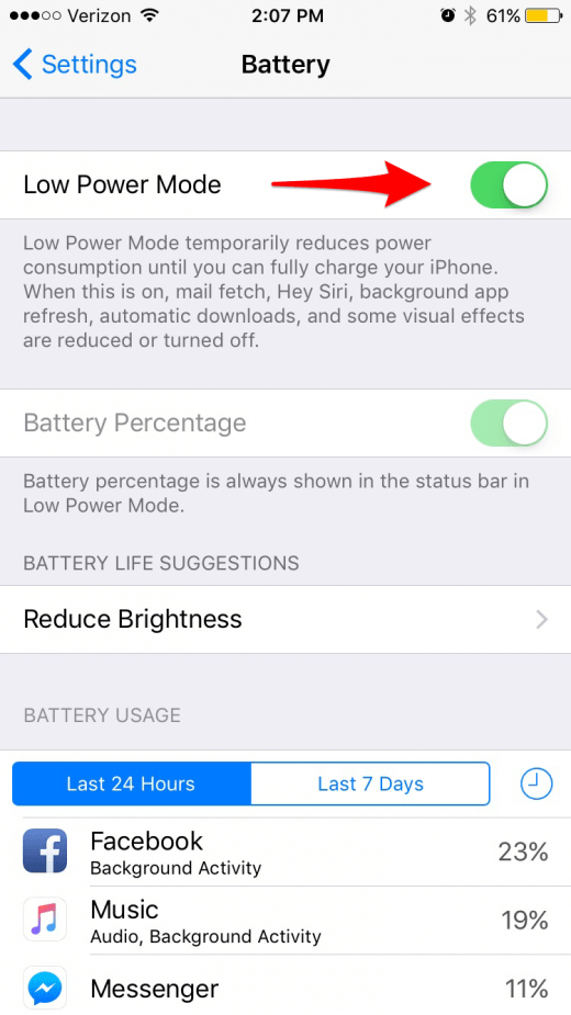 iOS 11 Draining Your iPhone Battery Life? Here's 10 Ways to Fix It | iPhoneLife.com