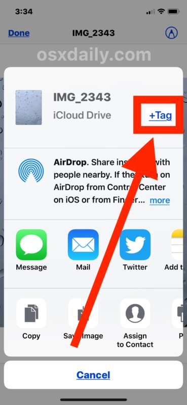How to Tag Files on iPhone and iPad