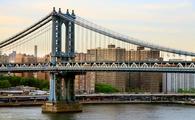 Manhattan Bridge New York City Skyline. (photo by: sansara/iStock/Getty Images Plus)