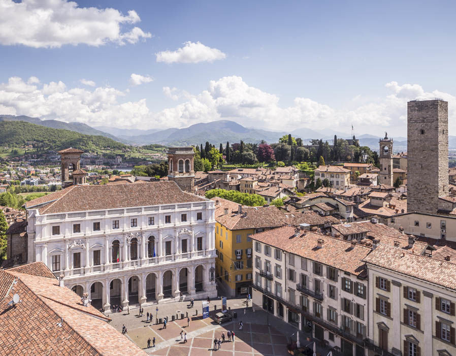 Bergamo - Located in the Lombardy region, it lies in the foothills of the Bergamo Alps