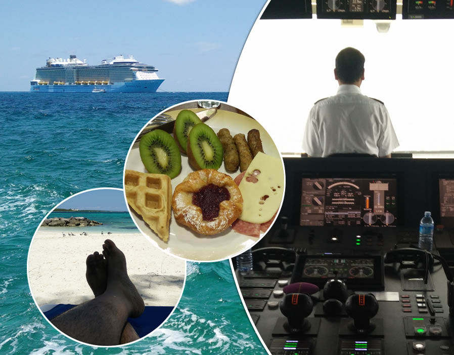 The SECRET life of a cruise ship officer